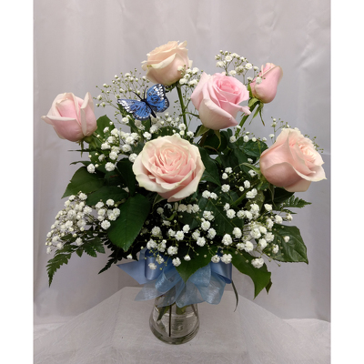Mother's Day Roses- Half Dozen from Shaw Florists in Grand Rapids, MN