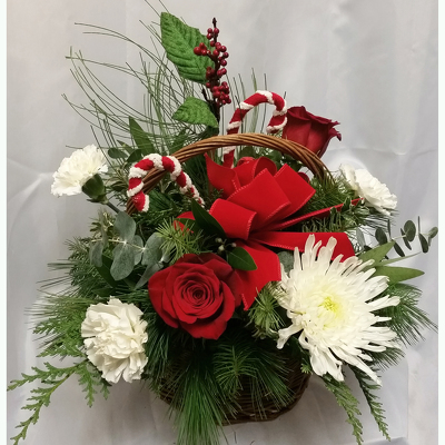 Country Christmas Basket from Shaw Florists in Grand Rapids, MN