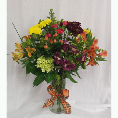 Fall Vase- Deluxe from Shaw Florists in Grand Rapids, MN