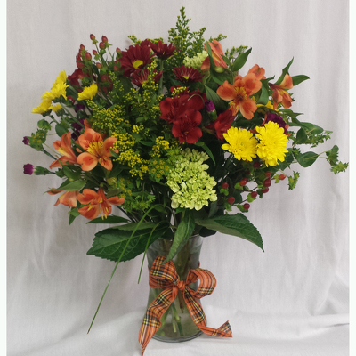 Fall Vase- Premium from Shaw Florists in Grand Rapids, MN