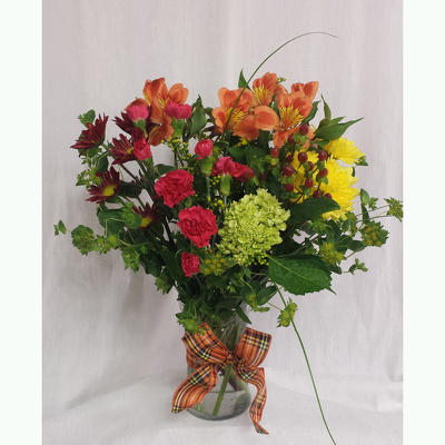 Fall Vase- Standard from Shaw Florists in Grand Rapids, MN