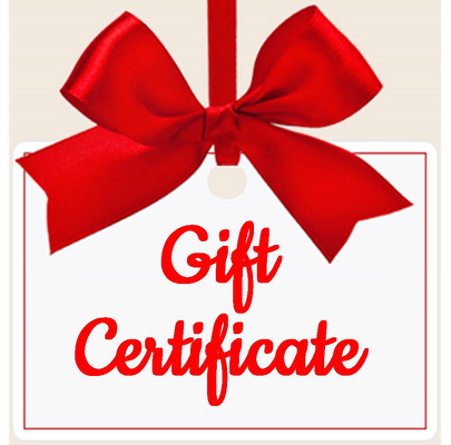 Gift Certificate from Shaw Florists in Grand Rapids, MN
