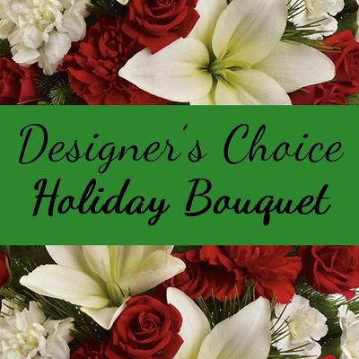 Designer's Choice Holiday Bouquet from Shaw Florists in Grand Rapids, MN