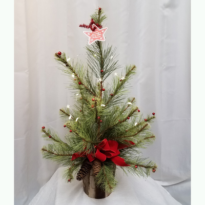 Merry Little Christmas Tree from Shaw Florists in Grand Rapids, MN