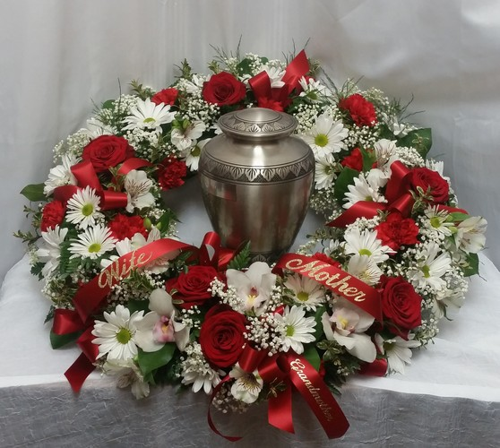 Remembrance Urn Wreath from Shaw Florists in Grand Rapids, MN