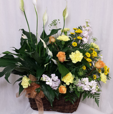 Twice as Nice Combination Basket from Shaw Florists in Grand Rapids, MN
