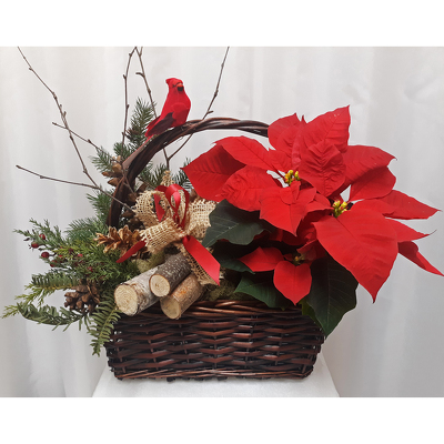 Woodland Basket from Shaw Florists in Grand Rapids, MN